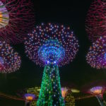 Singapore by night looks like giant inbound marketing funnels